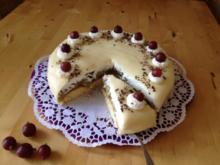 Stachelbeer-Marzipan-Torte - Rezept