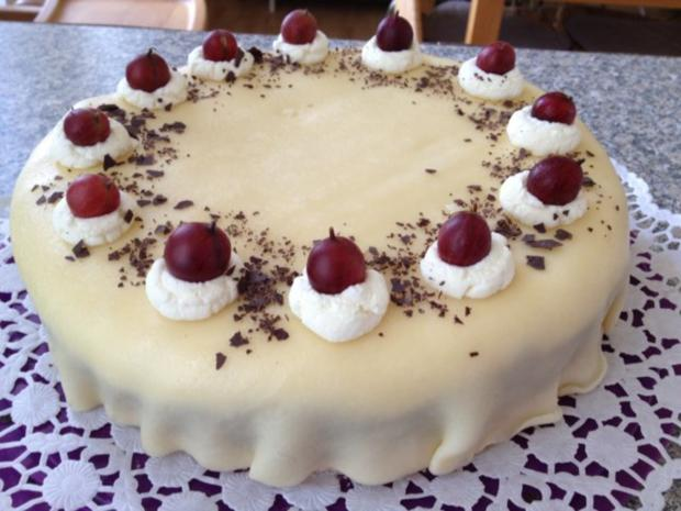 Stachelbeer-Marzipan-Torte - Rezept - Bild Nr. 2