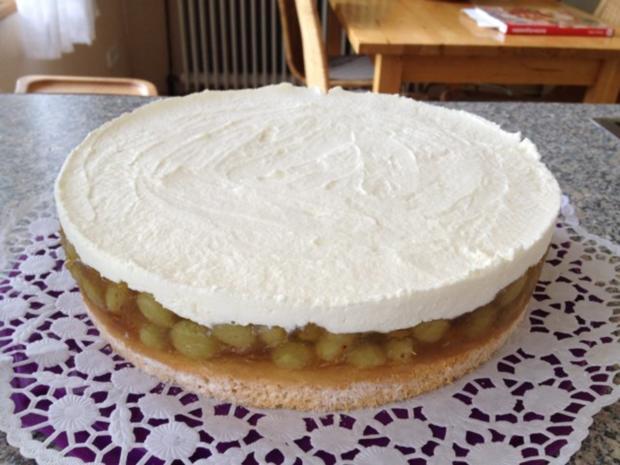 Stachelbeer-Marzipan-Torte - Rezept - Bild Nr. 4