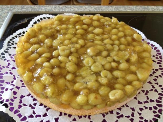 Stachelbeer-Marzipan-Torte - Rezept - Bild Nr. 5