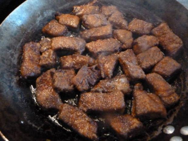 Schweinefleisch Süß-Sauer, Weight Watcher geeignet - Rezept - Bild Nr. 6