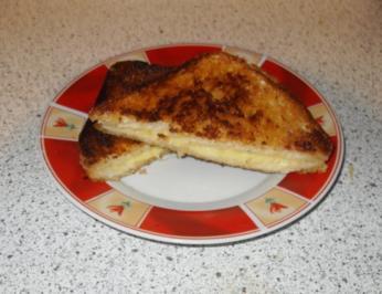 Knuspriger Käse-Toast - Rezept
