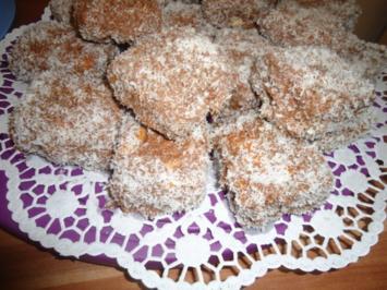 Kokoswürfel ( Schokolade - Minze ) - Rezept