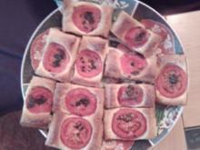 Tomaten-Rechtecke - Rezept