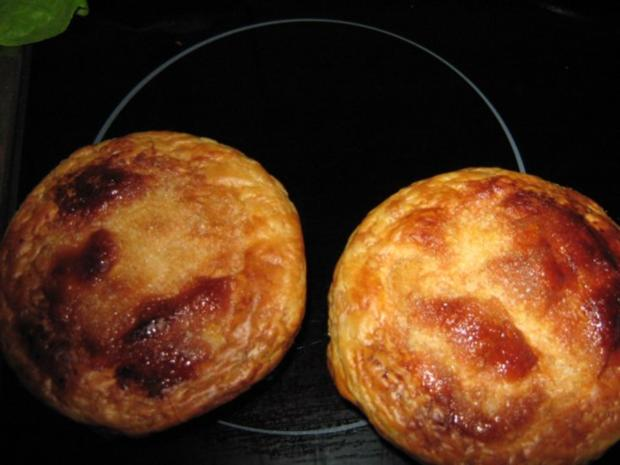 Weckglas-Quarkkuchen mit Blätterteighaube - Rezept - Bild Nr. 2
