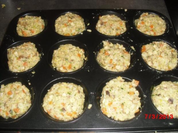 Muffin -- Tofu-Gemüse-Buchweizen mit Chili-Erdnuss-Sosse - Rezept - Bild Nr. 9