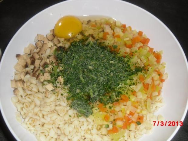 Muffin -- Tofu-Gemüse-Buchweizen mit Chili-Erdnuss-Sosse - Rezept - Bild Nr. 8