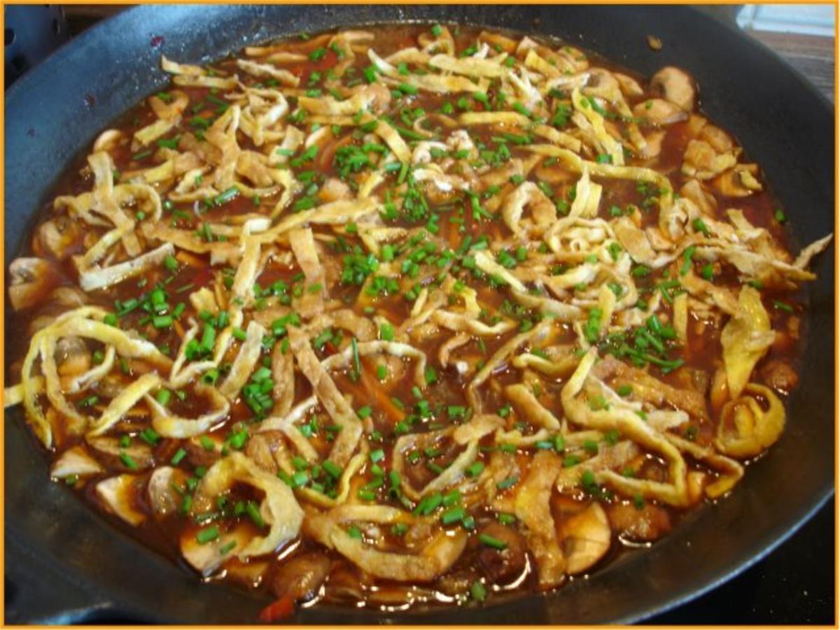 Pikant saure asiatische Suppe - Rezept Von Einsendungen MausVoh