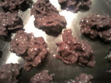 Reste- Schokokrossies - Kekse ohne Backen! - Rezept