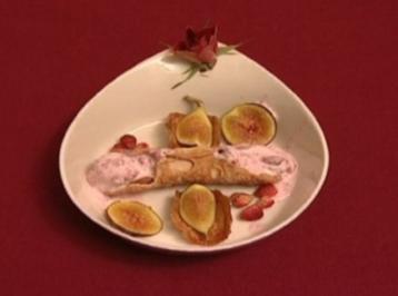 Cannoli ai fragolini di bosco (Abi Ofarim) - Rezept