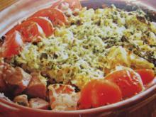 Wirsing-Kartoffelauflauf mit Fleisch - Rezept