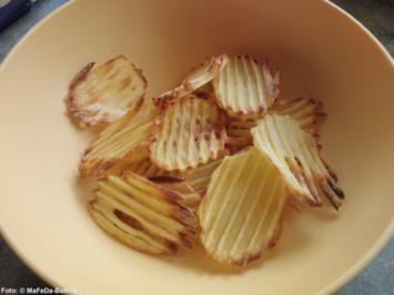 Kartoffel-Chips (selbstgemacht) - Rezept