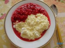 Johannisbeer-Suppe mit Griesbrei auf Berliner Art - Rezept
