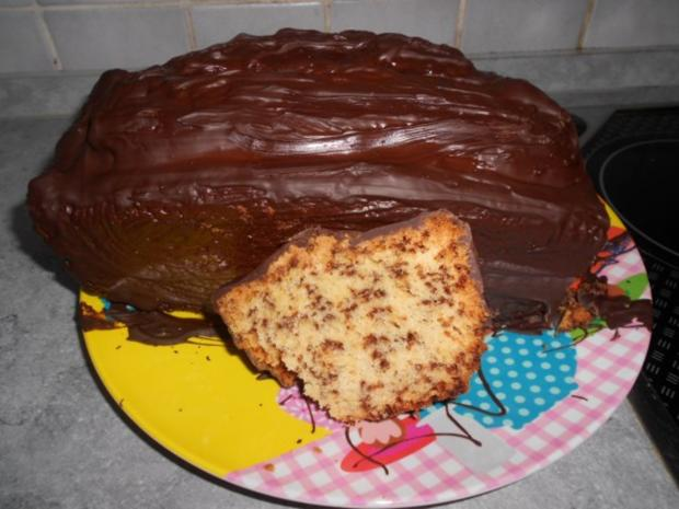 Schoko-Flockina-Kuchen - Rezept