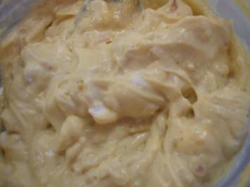 Frischkäse: Schalotten und Senf - Rezept
