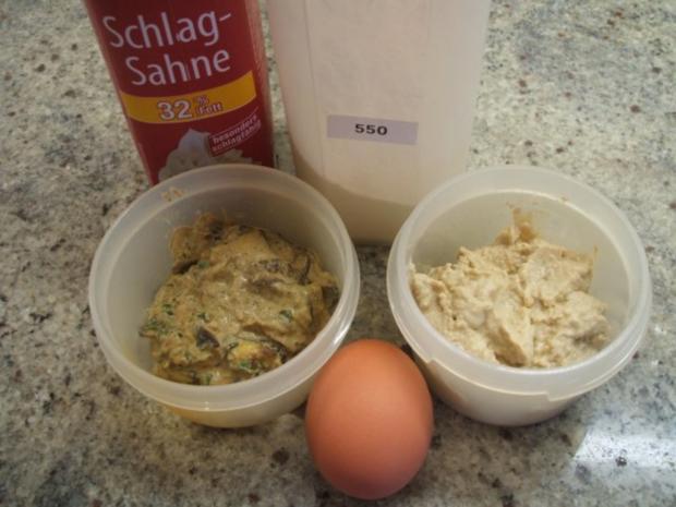 Vollkost: Hirse-Polenta und Pilzsoße - Resteverwertung - Rezept - Bild Nr. 2