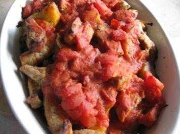 Gebackenes Tomatenfleisch - Rezept