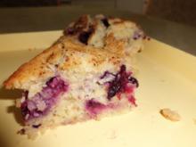 Muffins: Heidelbeer-Rahm-Küchlein - Rezept