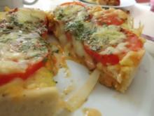 """Pizza: Mini-Pizza """"Wagenrad"""" - Rezept"""