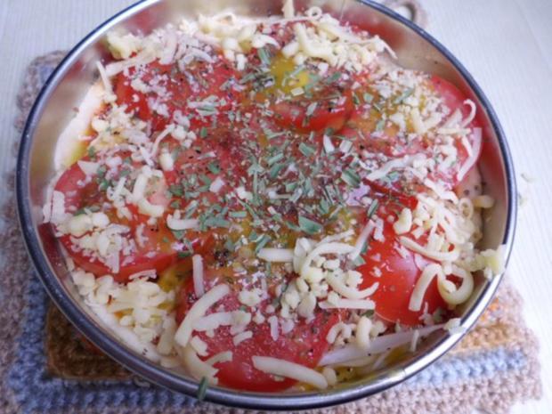"""Pizza: Mini-Pizza """"Wagenrad"""" - Rezept - Bild Nr. 5"""