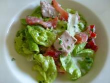 Lendensalat mit feinem  Wildkräuter-Dressing - Rezept