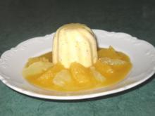 Dessert - Orangen-Panna-Cotta an Filets von Zitrusfrüchten - Rezept