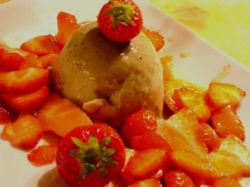 Rezept: Panna Cotta vom grünen Tee