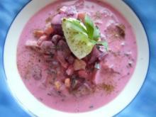 &#9829 Sommerliche Gurken-Suppe &#9829 - Rezept