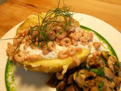 Ofenkartoffel für heiße Tage a`la Clodin - Rezept