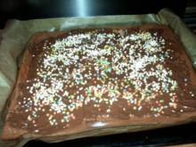 Schokoladenkuchen zum 5 Geburtstag - Rezept