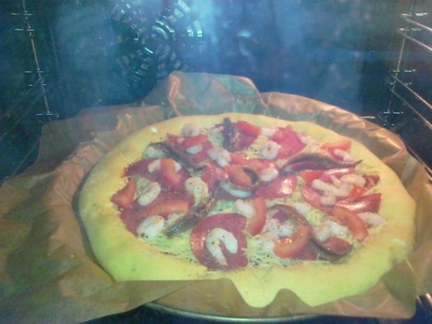 Meine Lieblings Pizza mit Käserand... - Rezept - Bild Nr. 14