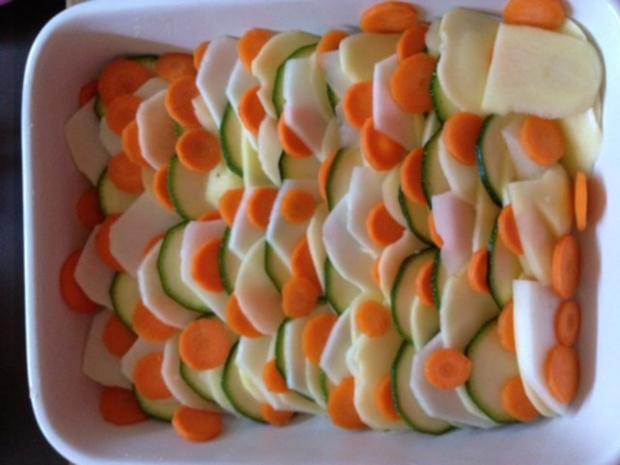 Kartoffel-Gemüse-Auflauf - Rezept