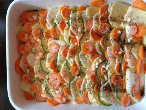 Kartoffel-Gemüse-Auflauf - Rezept - Bild Nr. 2