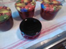 """Erdbeer-Marmelade """"Royal"""" {mit der Koenigin der Aromen = Vanille) - Rezept"""
