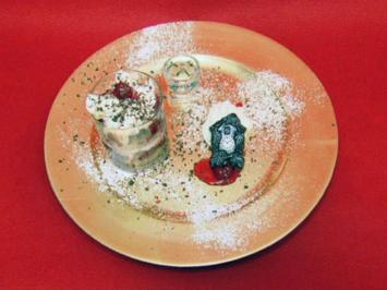 Schwarzwälder Kirsch-Dessert - Rezept