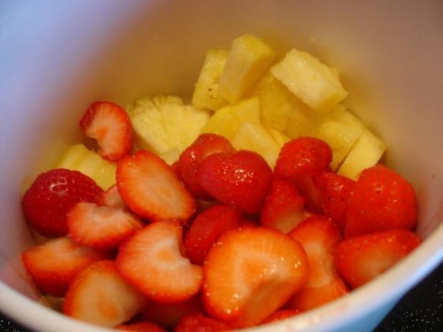 Ananas-Erdbeer-Dessert - Rezept - Bild Nr. 3