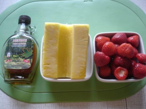 Ananas-Erdbeer-Dessert - Rezept - Bild Nr. 2