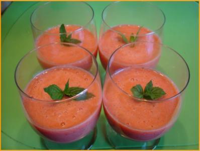 Ananas-Erdbeer-Dessert - Rezept