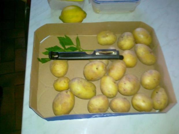 Gebratener Spargel mit neuen Kartoffeln. - Rezept - Bild Nr. 2