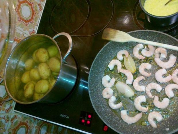 Gebratener Spargel mit neuen Kartoffeln. - Rezept - Bild Nr. 11