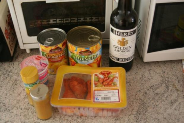 Fruchtige Hähnchenkeulen - Rezept - Bild Nr. 2
