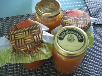 Aprikosen - Bananenmarmelade - Rezept