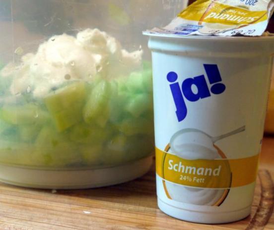 Kalte Gurken-Buttermilch-Suppe - Rezept - Bild Nr. 4
