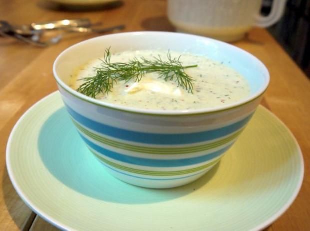 Kalte Gurken-Buttermilch-Suppe - Rezept - Bild Nr. 8