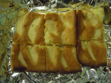 Rezept: Schneller Biskuitapfelkuchen