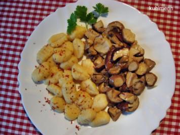 Steinpilze in Butter geschmort - Rezept