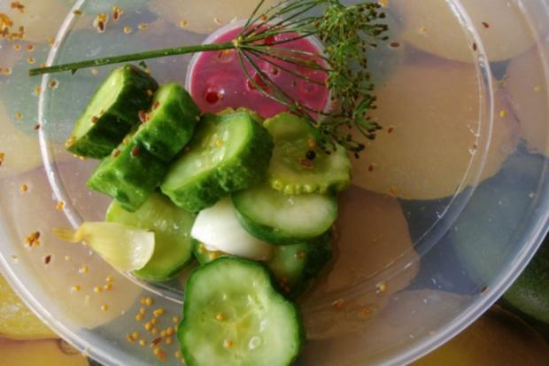 Schnelle Gurke - Pfeffergurke - Rezept - Bild Nr. 10
