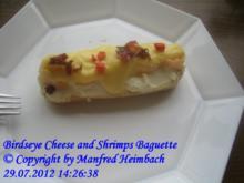 Shrimps – Birdseye Cheese and Shrimps Baguette - Rezept