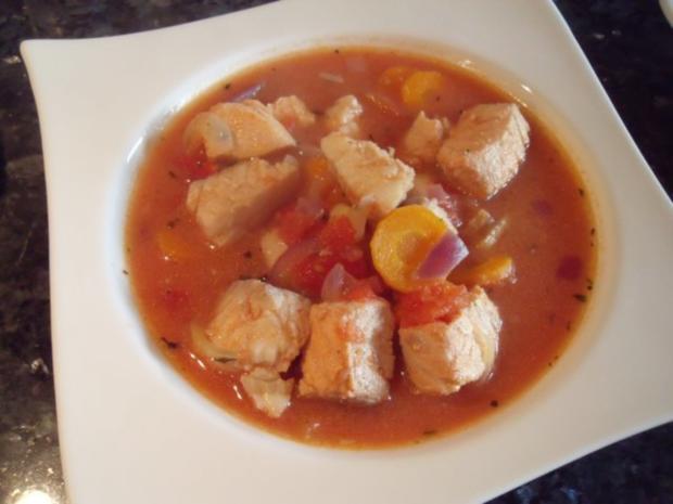 Mediterrane Fischsuppe - Rezept