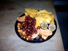 Reste Aus der wöchentlichen Obsttüte Marmelade Tropenobst - Rezept